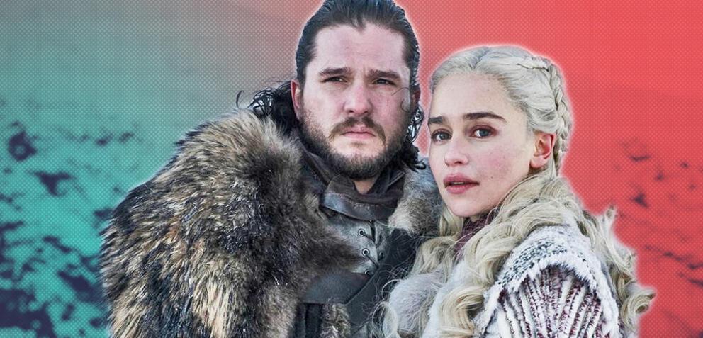 Game of Thrones mit Kit Harington und Emilia Clarke