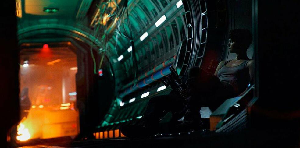 Alien: Covenant mit Katherine Waterston