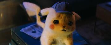 Trauriger Detective Pikachu
