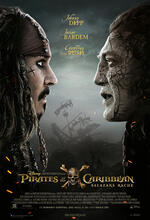Pirates of the Caribbean 5: Salazars Rache Poster