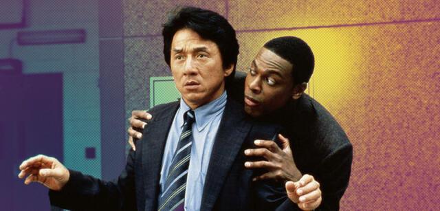 Jackie Chan und Chris Tucker in Rush Hour 2