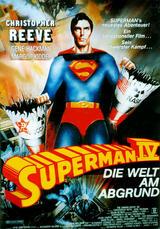 Superman IV - Die Welt am Abgrund - Poster