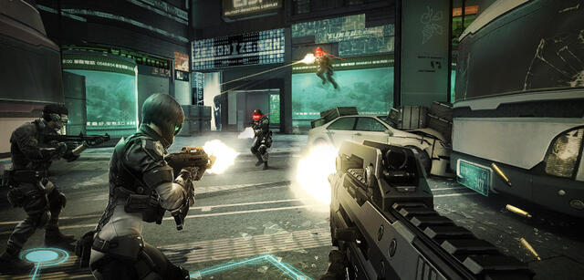 Ghost in the Shell als Multiplayer-Shooter: First Assault