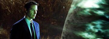 Keanu Reeves in der Tag, an dem die Erde stillstand