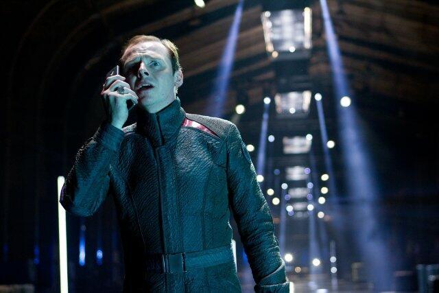 Star Trek Into Darkness mit Simon Pegg