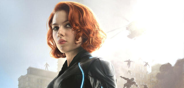 Scarlett Johansson als Black Widow in Avengers: Infinity War