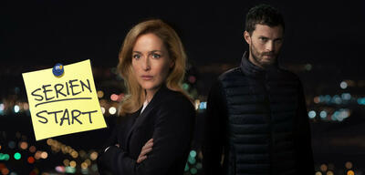 Gillian Anderson und Jamie Dornan in The Fall: Tod in Belfast