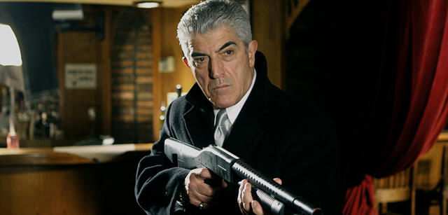 Frank Vincent in Chicago Overcoat