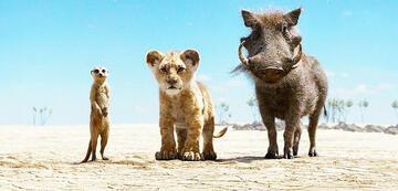 Der König der Löwen mit Timon und Pumbaa