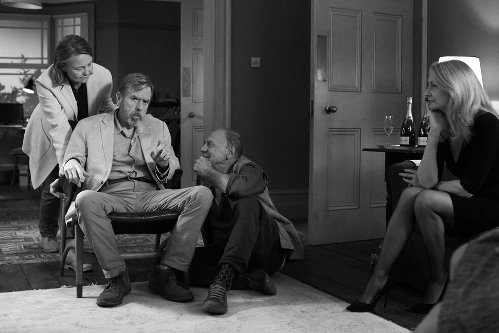 The Party mit Bruno Ganz, Patricia Clarkson, Timothy Spall und Cherry Jones