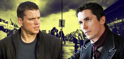 Matt Damon und Christian Bale