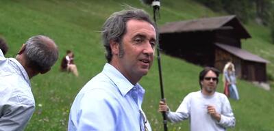 Paolo Sorrentino auf dem Set von Ewige Jugend