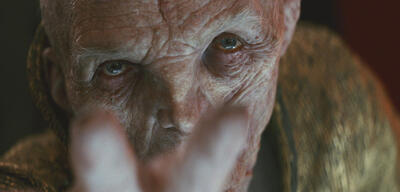 Snoke in Star Wars: Episode VIII - Die letzten Jedi