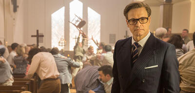 Colin Firth inKingsman: The Secret Service