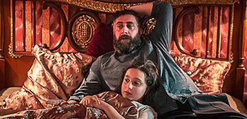 Toni mit seiner Tochter Serin in 4 Blocks