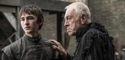 Bran und der Dreiäugige Rabe in Game of Thrones