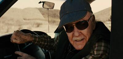 Ein regelmäßiger Cameo-Gast: Stan Lee