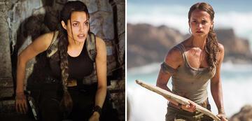 Angelina Jolie in Tomb Raider und Alicia Vikander im Reboot