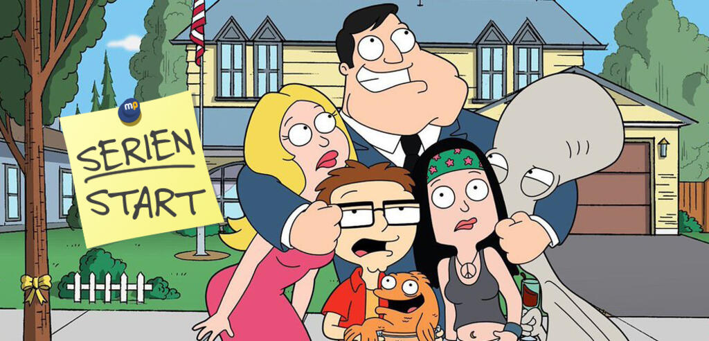 American Dad Stan hat seine schräge Familie einfach gern