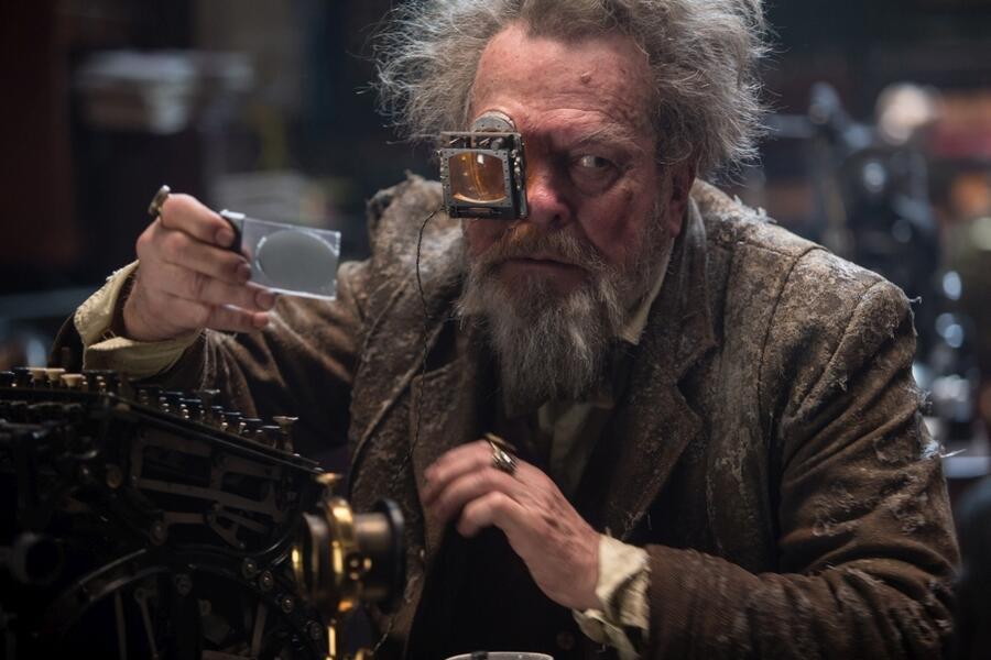 Jupiter Ascending mit Terry Gilliam