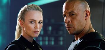 Bild zu:  Charlize Theron und Vin Diesel in Fast & Furious 8