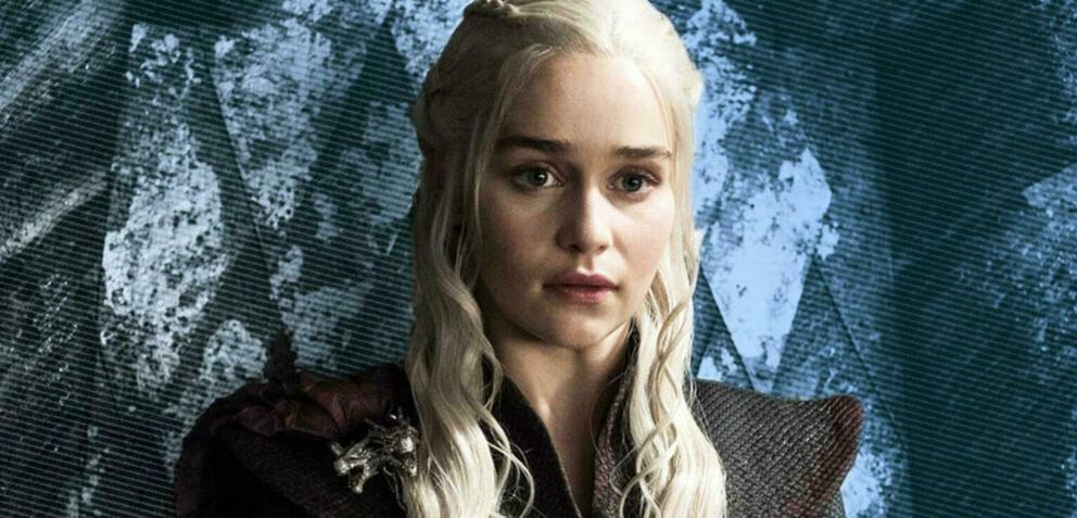Daenerys (Emilia Clarke) in Game of Thrones