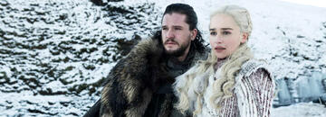 Kit Harington und Emilia Clarke in der umstrittenen 8. Staffel Game of Thrones