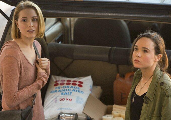 Into the Forest mit Ellen Page und Evan Rachel Wood