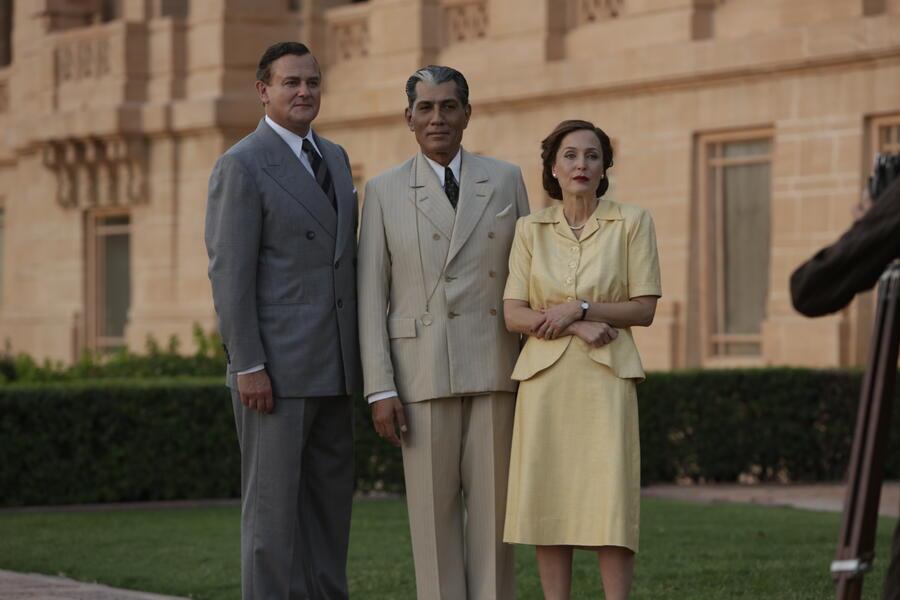 Der Stern von Indien mit Gillian Anderson, Hugh Bonneville und Denzil Smith