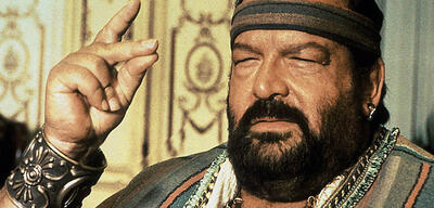 Bud Spencer in Aladin