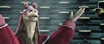 Jar Jar Binks in Star Wars: Episode I - Die dunkle Bedrohung
