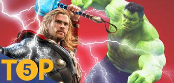 Bild zu:  Thor und Hulk