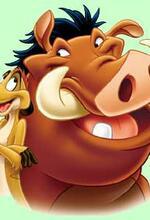 Abenteuer mit Timon und Pumbaa Poster