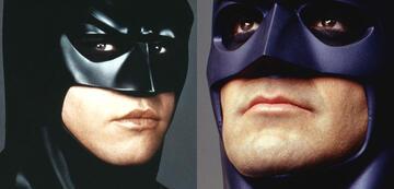 Val Kilmer und George Clooney als Batman.