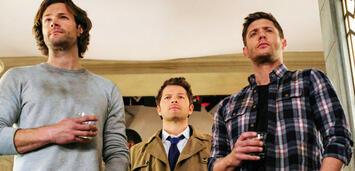 Bild zu:  Supernatural: Sam, Castiel und Dean