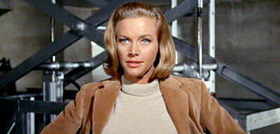 Honor Blackman als Pussy Galore in James Bond 007 - Goldfinger