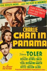 Charlie Chan in Panama - Poster