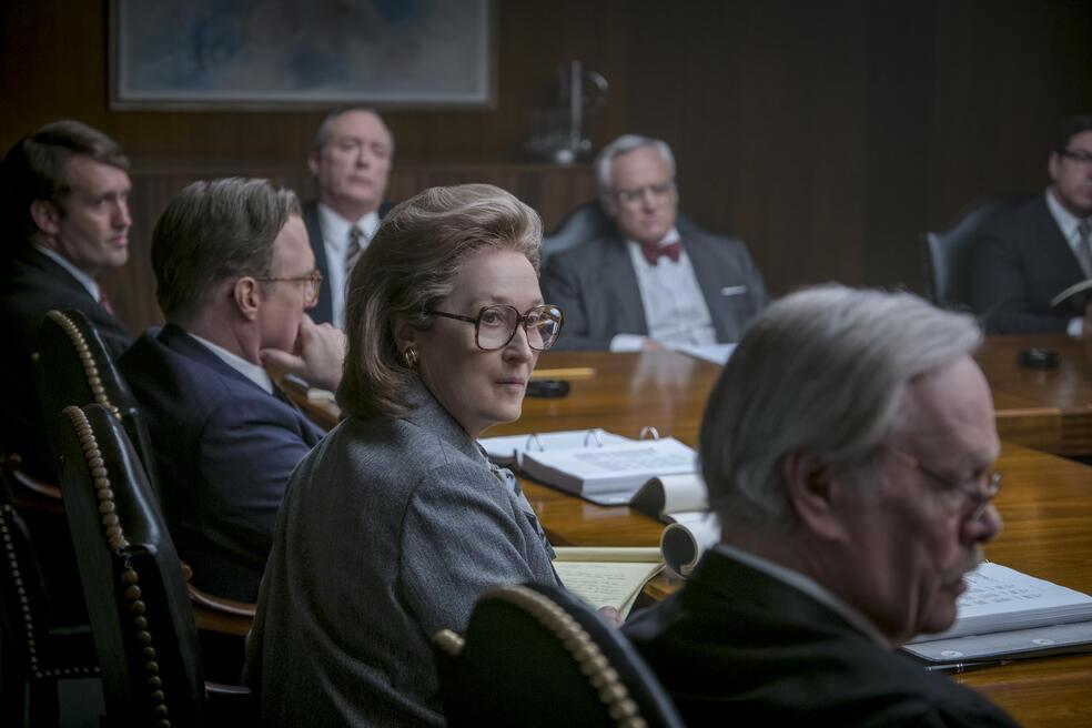 Die Verlegerin mit Meryl Streep