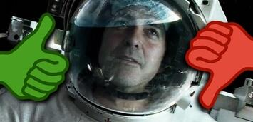 Bild zu:  George Clooney in Gravity
