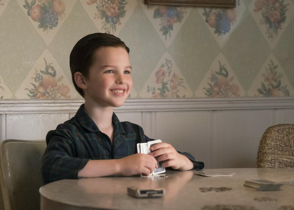 Young Sheldon, Young Sheldon - Staffel 1 mit Iain Armitage