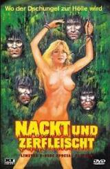 Nackt und zerfleischt - Poster