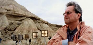 Bild zu:  Terry Gilliam am früheren Don Quixote-Set