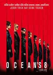Das Poster zu Ocean's 8