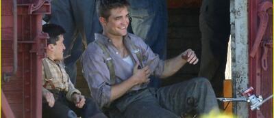 Robert Pattinson in Wasser für Elefanten