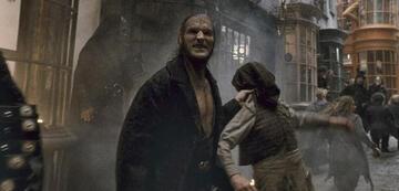 Dave Legeno als Fenrir Greyback in Harry Potter