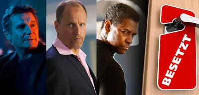 Liam Neeson in Taken 2 / Woody Harrelson in 7 Psychos/ Denzel Washington in Safe House