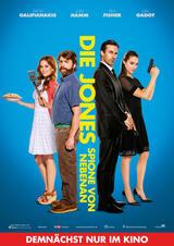 Die Jones - Spione von nebenan - Poster