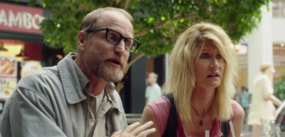 Woody Harrelson und Laura Dern in Wilson