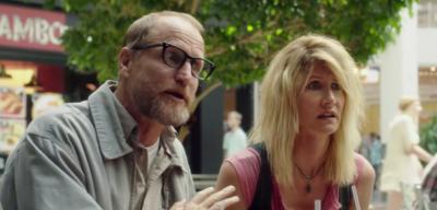 Woody Harrelson und Laura Dern in Wilson