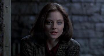 Jodie Foster als Clarice Starling in Das Schweigen der Lämmer